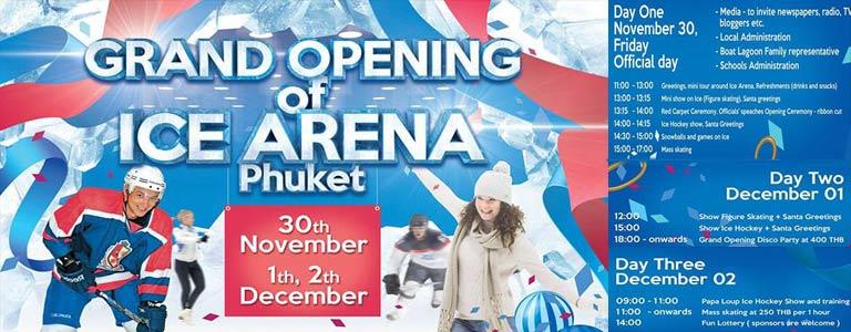 Grand Opening of Ice Arena Phuket