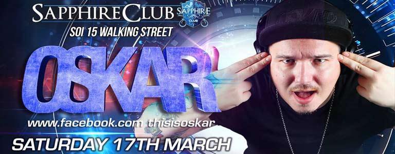 DJ OSKAR at Sapphire Club Pattaya