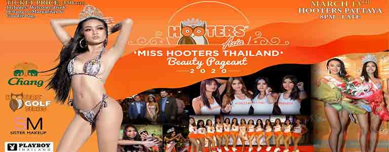 Miss Hooters Thailand 2020 Grand Final