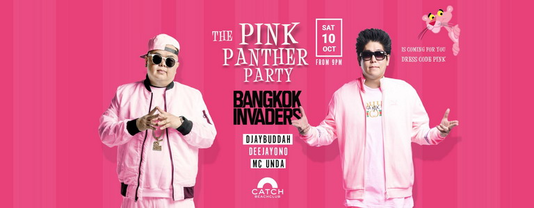 The Pink Panther Party at Catch Beach Club