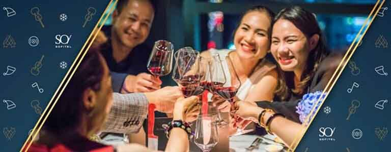 Park Society: New Year's Eve Gastronomic Dinner Hosted by SO Sofitel Bangkok