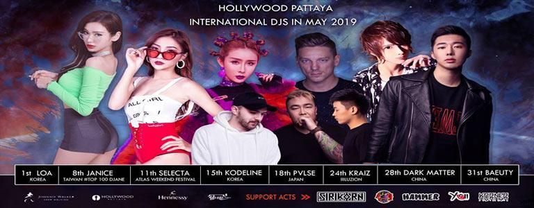 Hollywood Pattaya Party Djs
