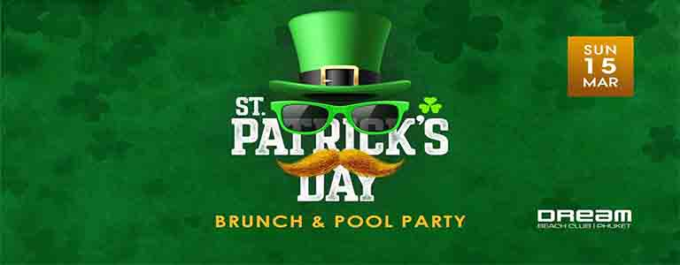 St. Patrick Day Sunday Brunch & Pool Party at Dream Beach Club