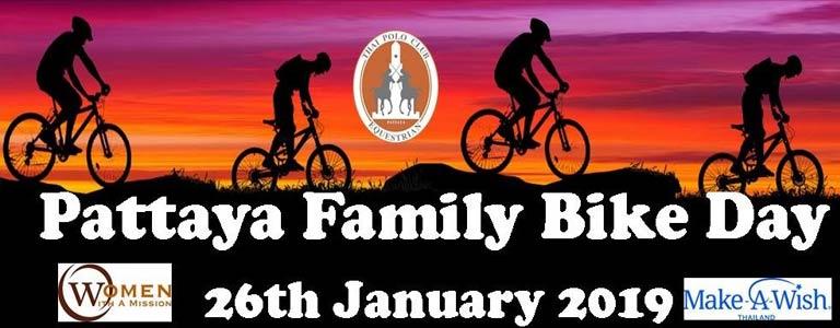 Pattaya Family Bike Day 2019