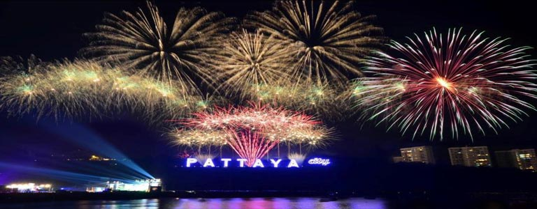 New Year Festival in Pattaya