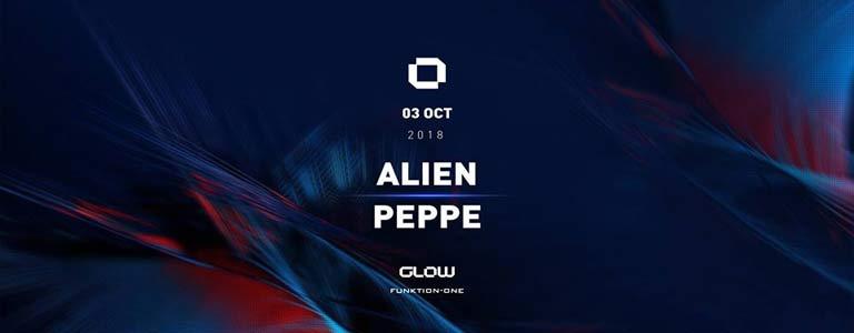 GLOW Wednesday w/ Alien & Peppe