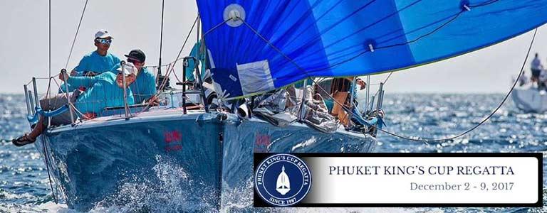 Phuket King's Cup Regatta 2017