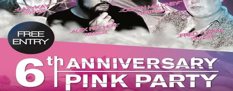 XANA 6th Anniversary Pink Party