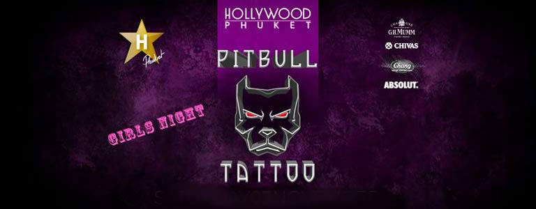 Pitbull Girls Night