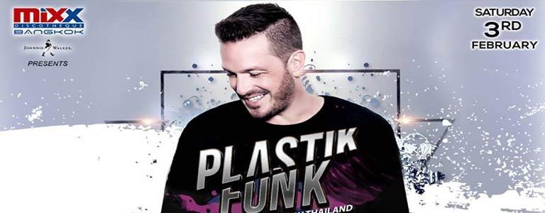 Plastik Funk Live at MiXX Discotheque Bangkok