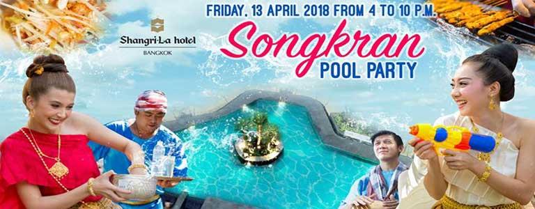 Songkran Pool Party at Shangri-La Hotel Bkk