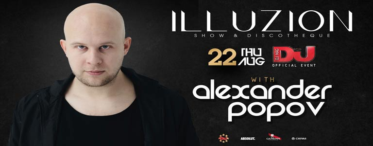 DJ Mag Official Event w/ Alexander Popov
