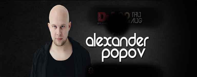 Official DJ MAG event with Alexander Popov