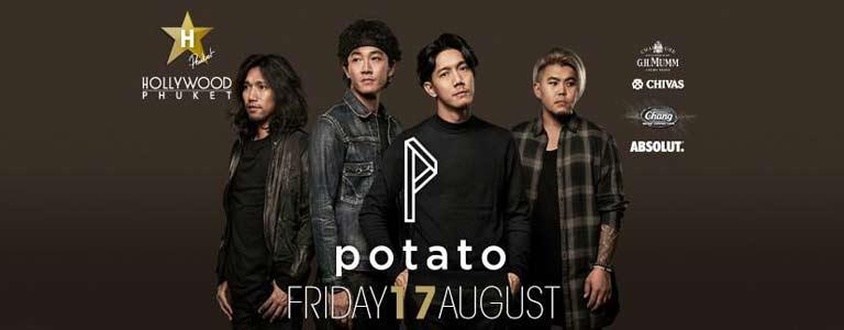 Potato at Hollywood Phuket