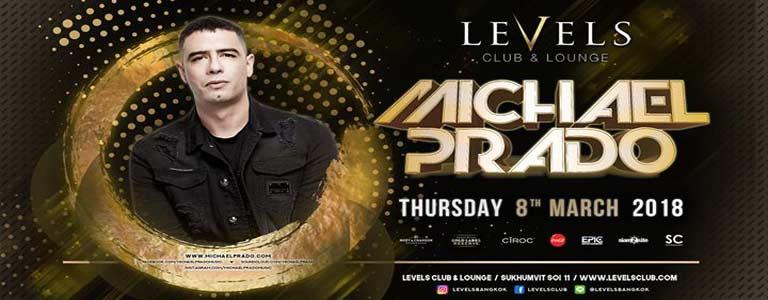 Michael Prado at Levels Club & Lounge Bkk