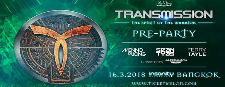 Official Pre-Party Transmission Bangkok 2018