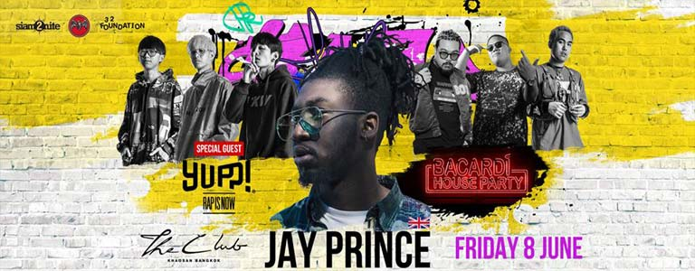 Uks Hip Hop Icon Jay Prince Live at The Club feat Rapisnow