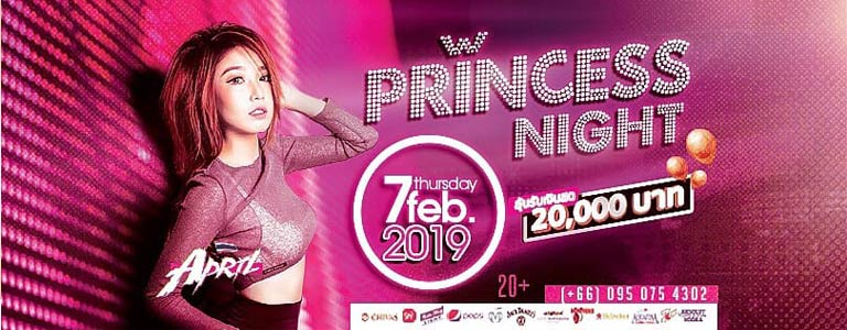 Princess Night w/ DJ April at Lucifer Club Pattaya