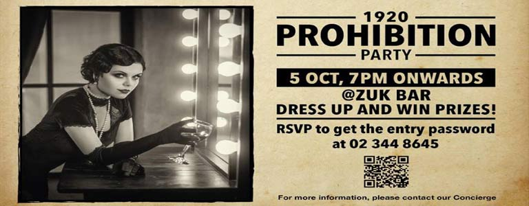 Prohibition Party at The Sukhothai Bangkok