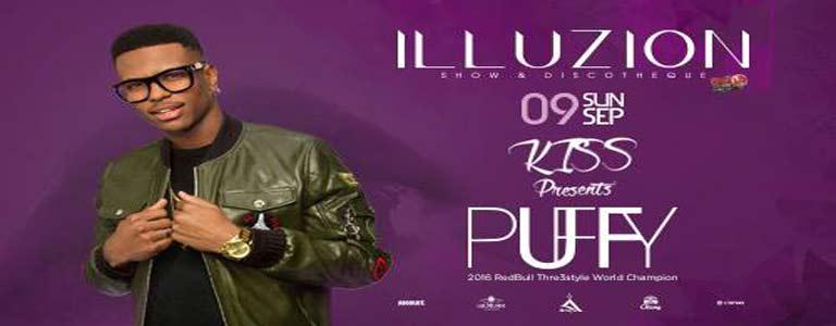 Kiss presents DJ PUFFY at Illuzion Phuket