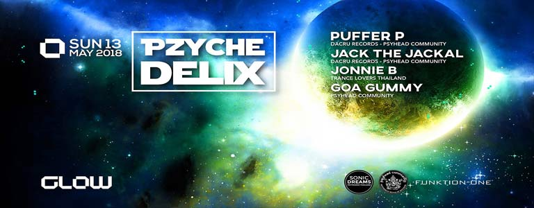 Pzychedelix at Glow ॐ