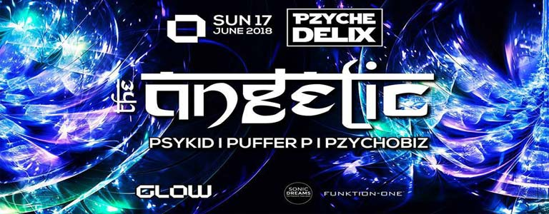Pzychedelix at Glow ॐ : The Angelic