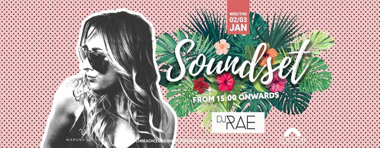 Soundset with DJ RAE at Catch Beach Club Phuket