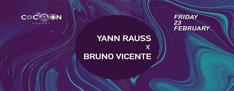 Yann Rauss x Bruno Vicente at Cocoon Phuket