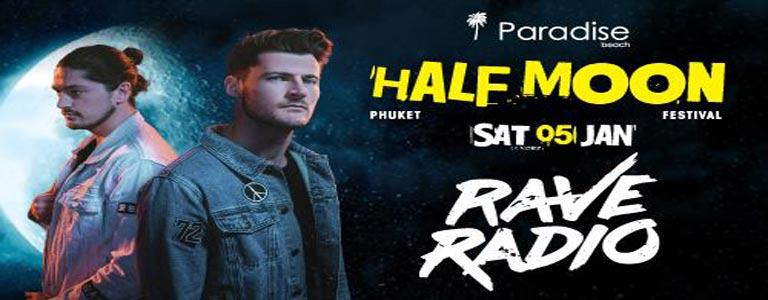 Half Moon Festival w/ RAVE RADIO at Paradise Beach