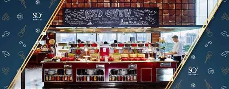 Red Oven: New Year's Day Hangover Brunch Hosted by SO Sofitel Bangkok