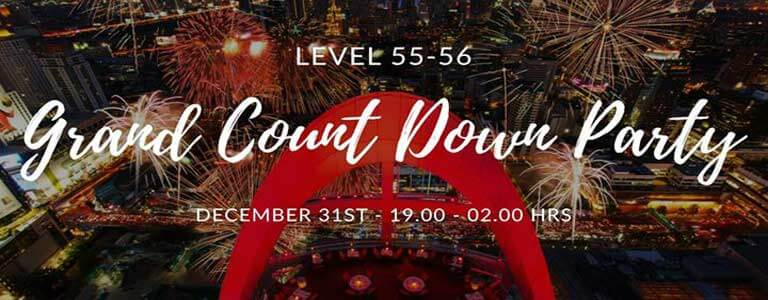 Grand Count Down Party at Red Sky Bistro & Bar Bangkok