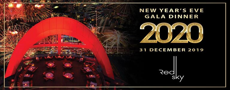 New Year's Eve Gala Dinner at Red Sky