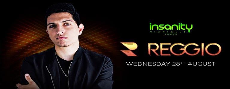 Reggio at Insanity Nightclub