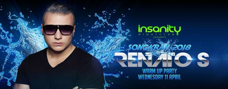 Songkran 2018 Warm Up Party with Renato