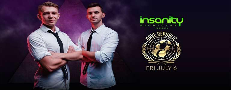 Rave Republic at Insanity Disco Club Bangkok