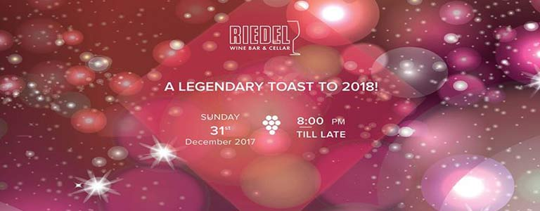 New Year's Eve Dinner Party at Riedel Wine Bar & Cellar Hosted by Gaysorn Food Village