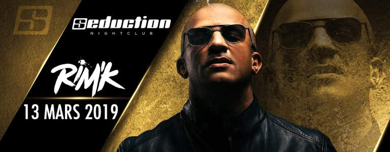 RIM'K en concert au Seduction NightClub