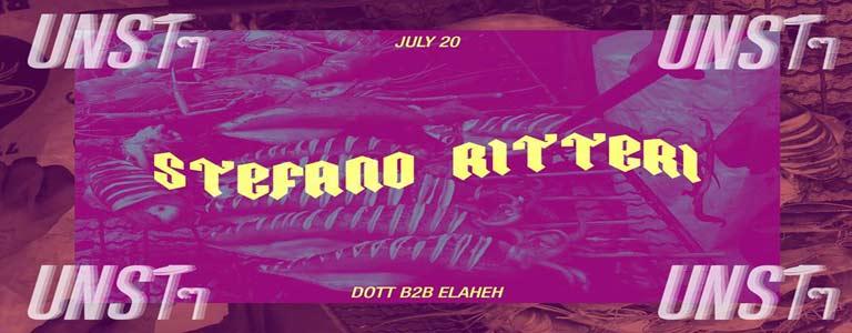 UNSTๆ presents: Stefano Ritteri at Glow