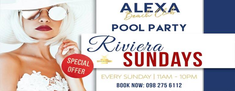 Riviera Sundays | Alexa Beach Club Pattaya