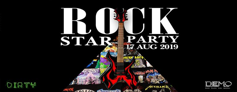 Rock Star Party at Dirty DEMO