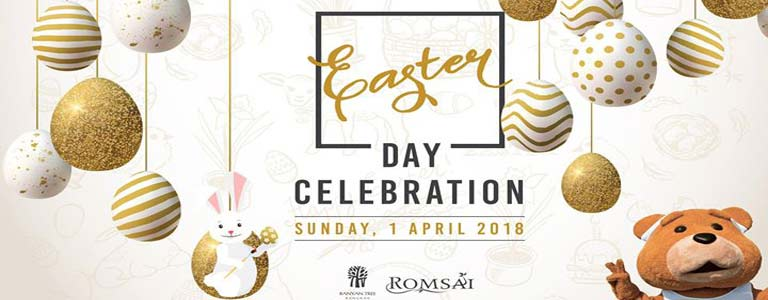 Easter Day Celebration at Romsai