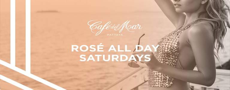 Rose All Day Saturdays at Cafe del Mar Pattaya