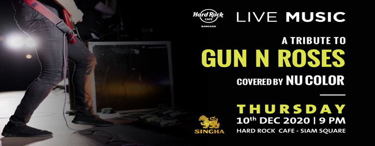 A tribute to Guns N' Roses at Hard Rock Cafe