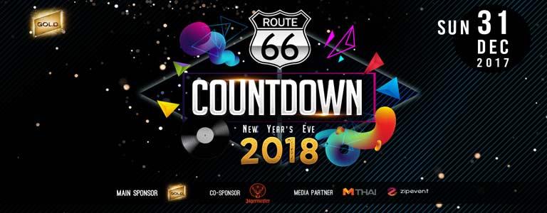 New Year's Eve at Route 66 Club Bangkok