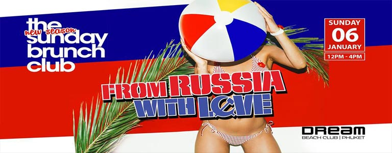 From Russia With Love Brunch & Pool Party at Dream Beach Club