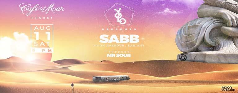YOLO presents SABB ( Moon Harbour ) at Cafe del Mar Phuket