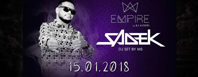 SADEK à Empire Discotheque by Illuzion Phuket