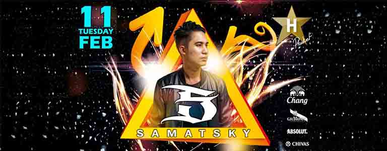 Samatsky Live at Hollywood Phuket