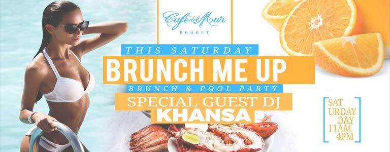 Saturday Brunch Pool Party w/ Dj Khansa at Café del Mar