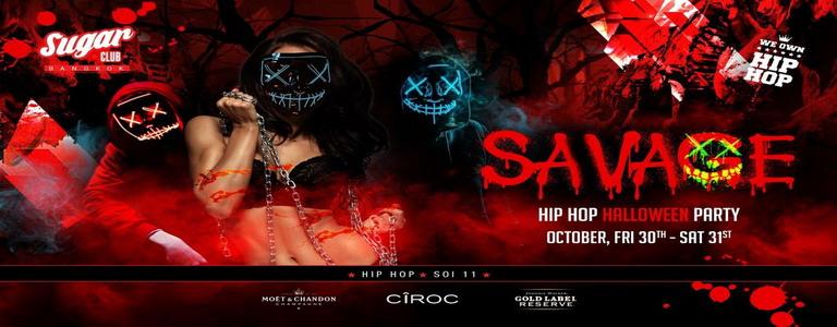 Savage Hip Hop Halloween Weekend at Sugar Club